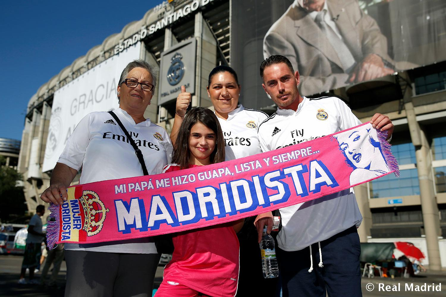 Real Madrid - Ambiente - 25-08-2014