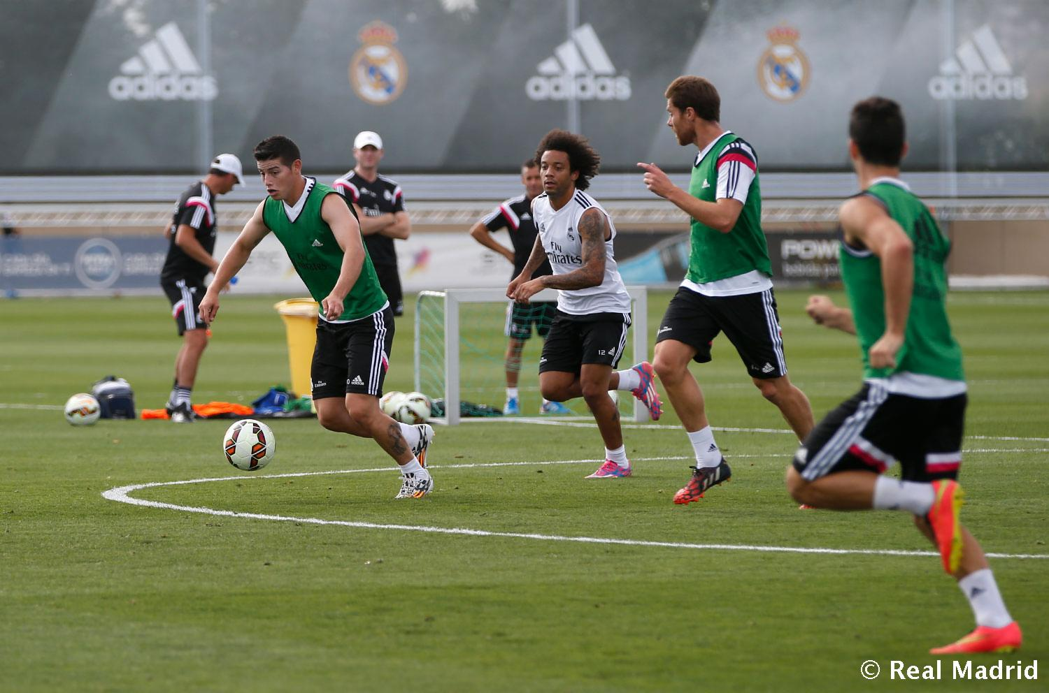 Real Madrid - Entrenamiento del Real Madrid - 27-08-2014