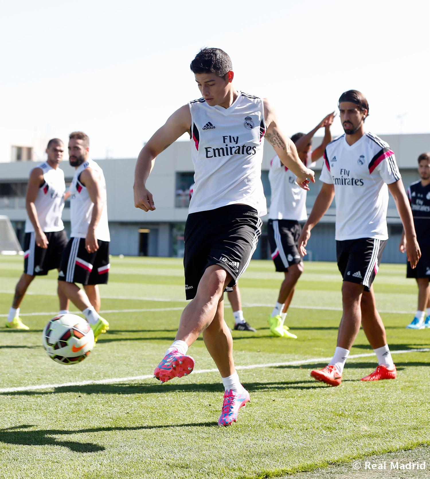 Real Madrid - Entrenamiento del Real Madrid - 28-08-2014