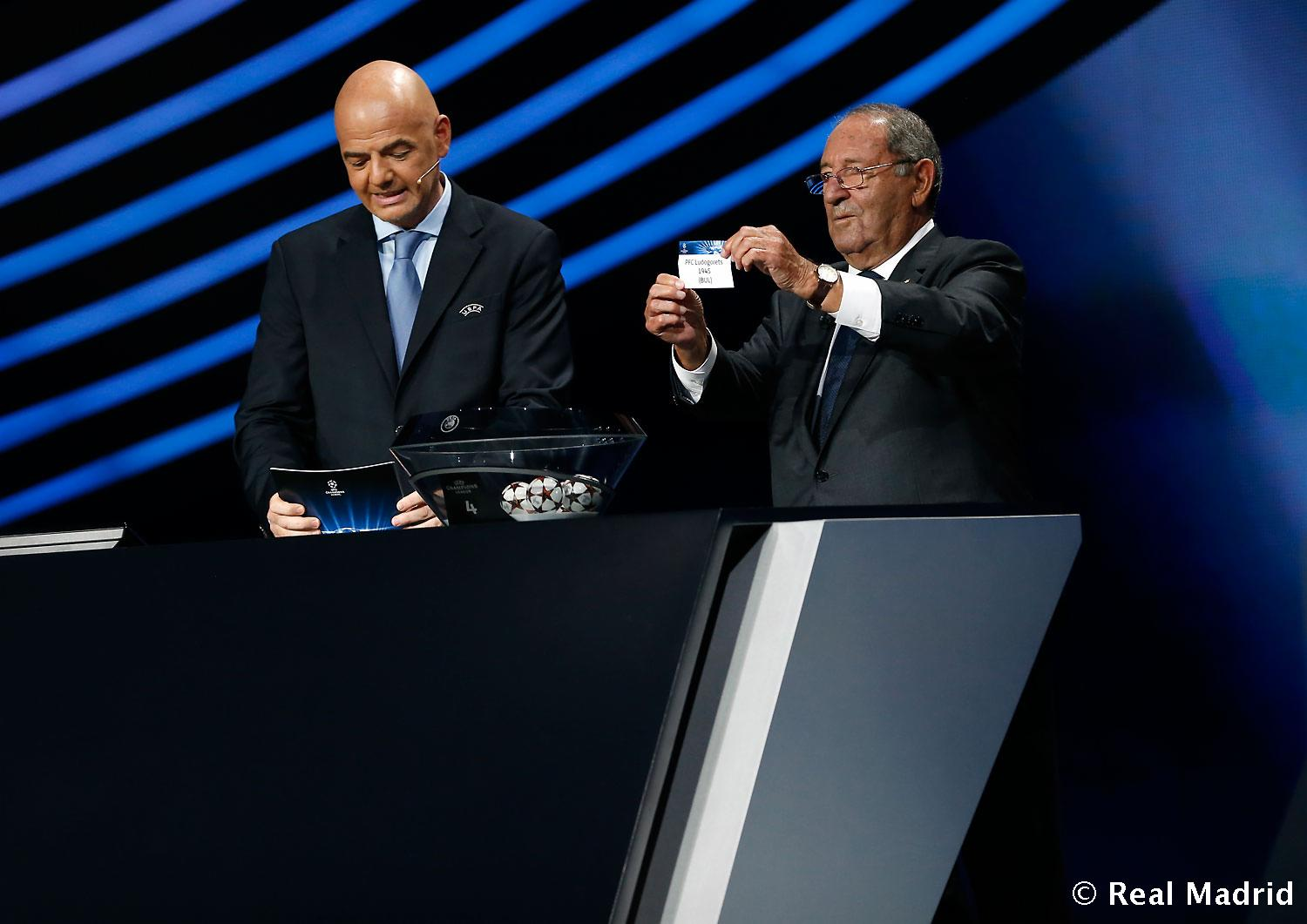 Real Madrid - Sorteo de la Champions League 14/15 - 28-08-2014