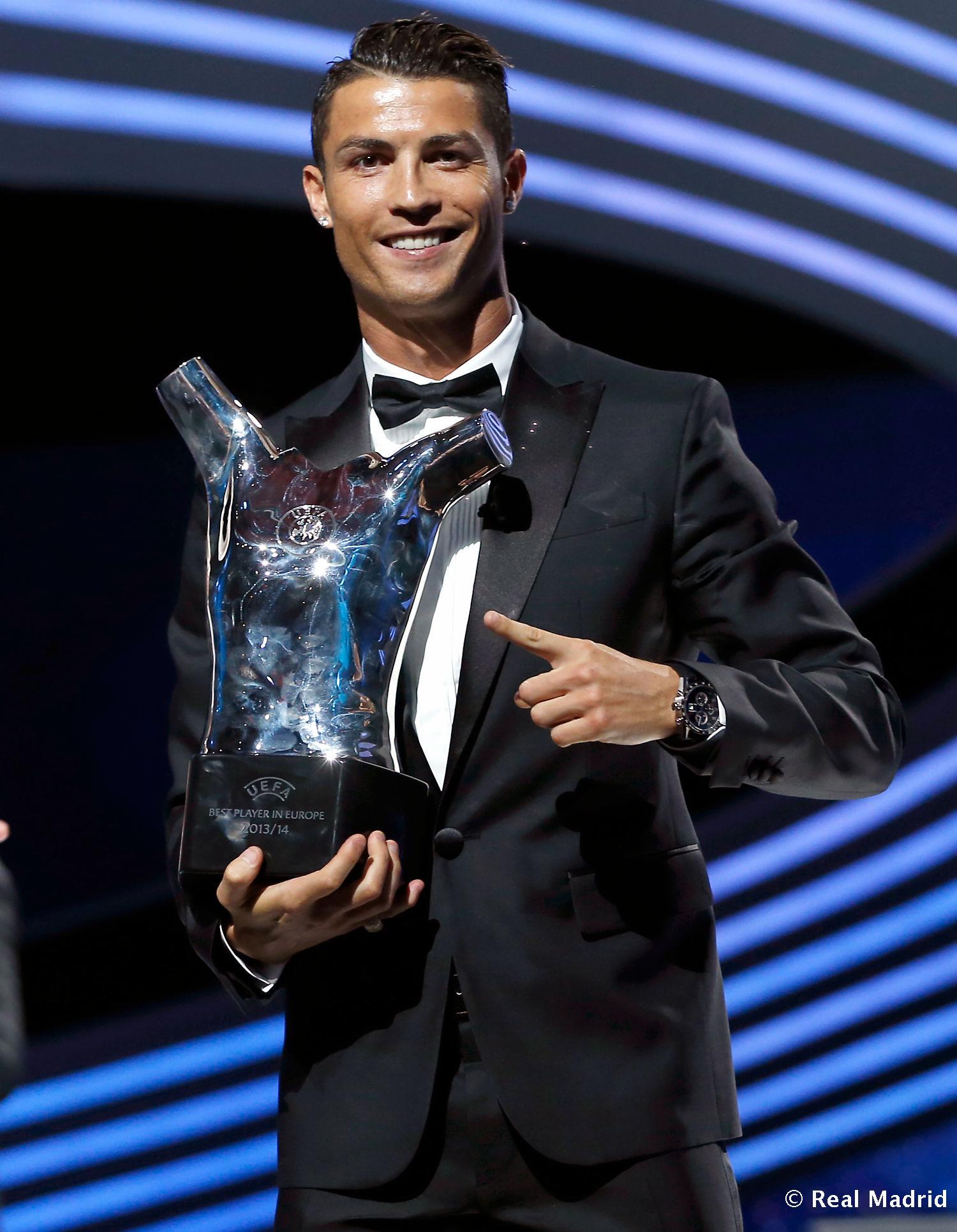 Cristiano ronaldo mejor jugador en europa fotos real - Tarimas del mundo madrid ...
