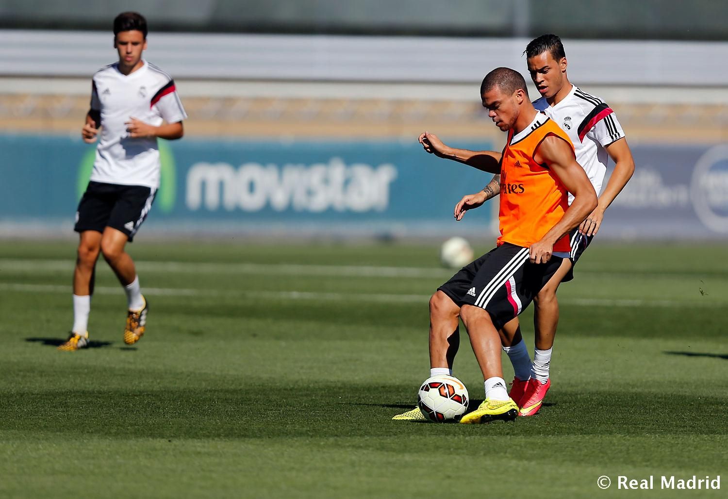 Real Madrid - Entrenamiento del Real Madrid - 29-08-2014