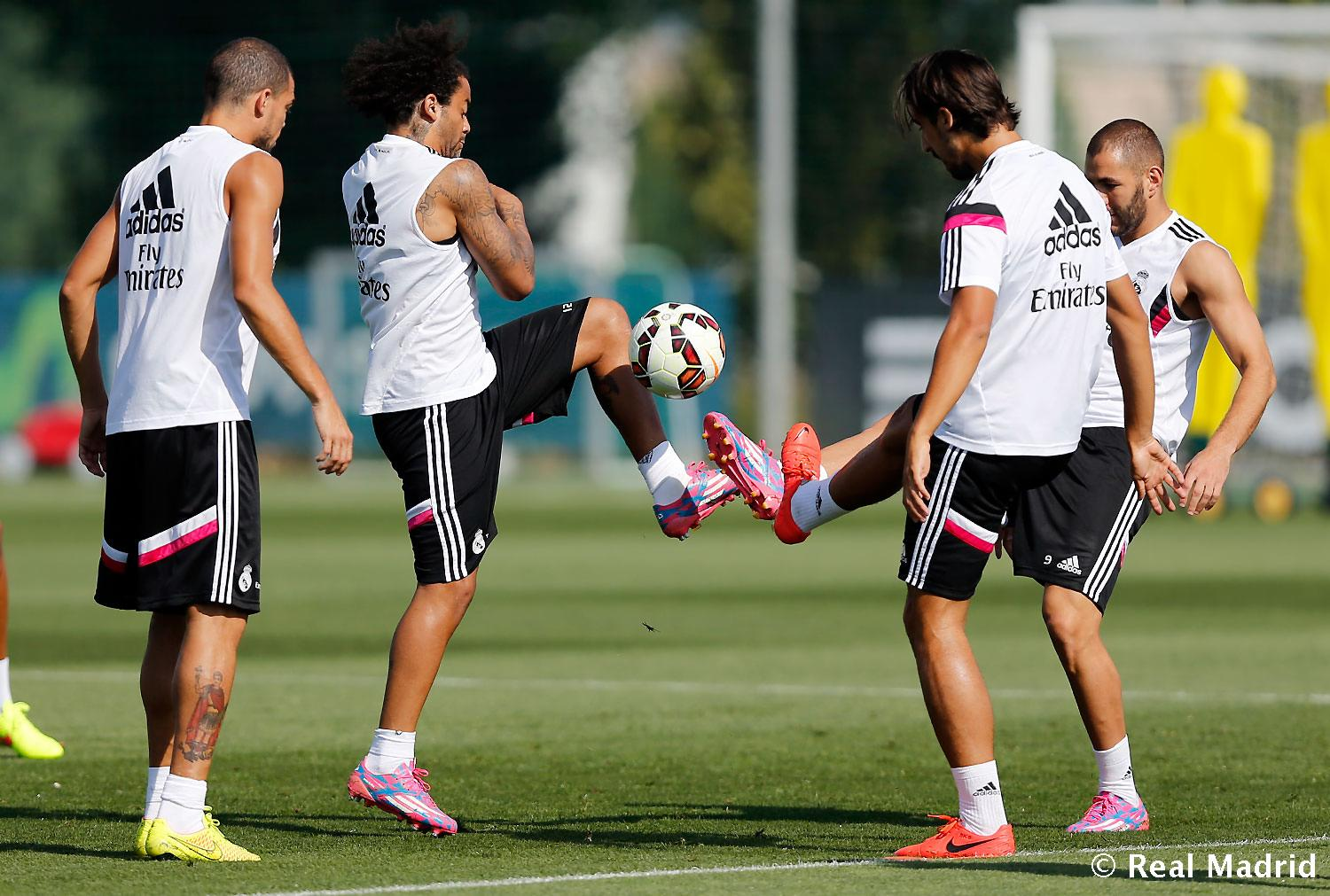 Real Madrid - Entrenamiento del Real Madrid - 30-08-2014