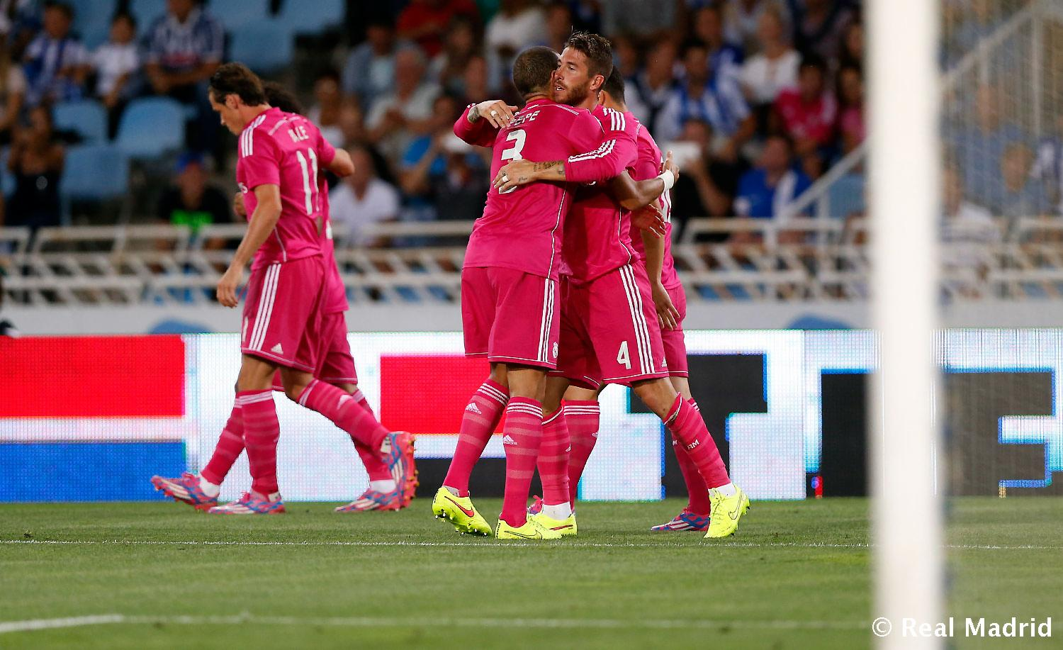 Real Madrid - Real Sociedad - Real Madrid - 31-08-2014