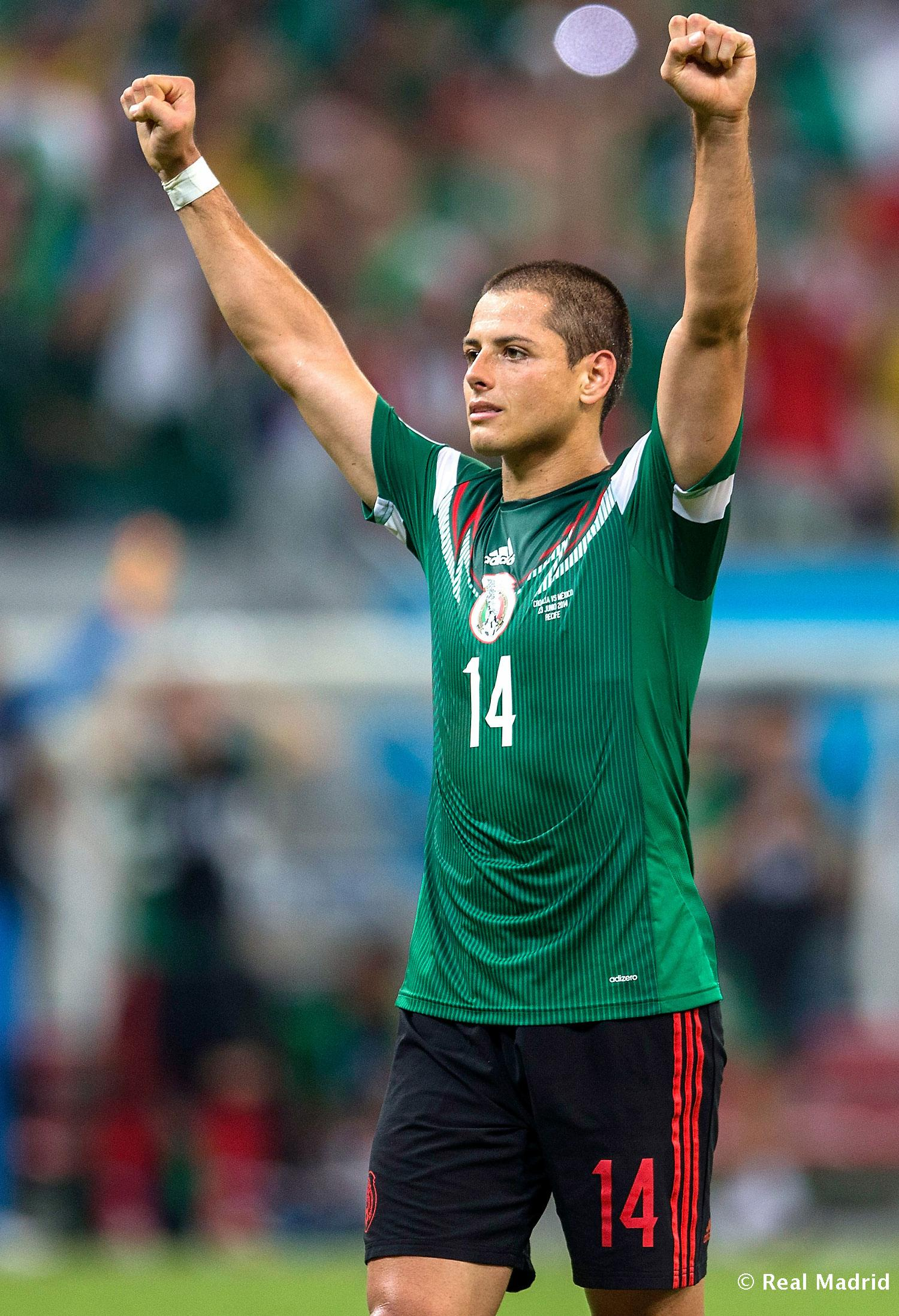 Real Madrid - Chicharito - 31-08-2014