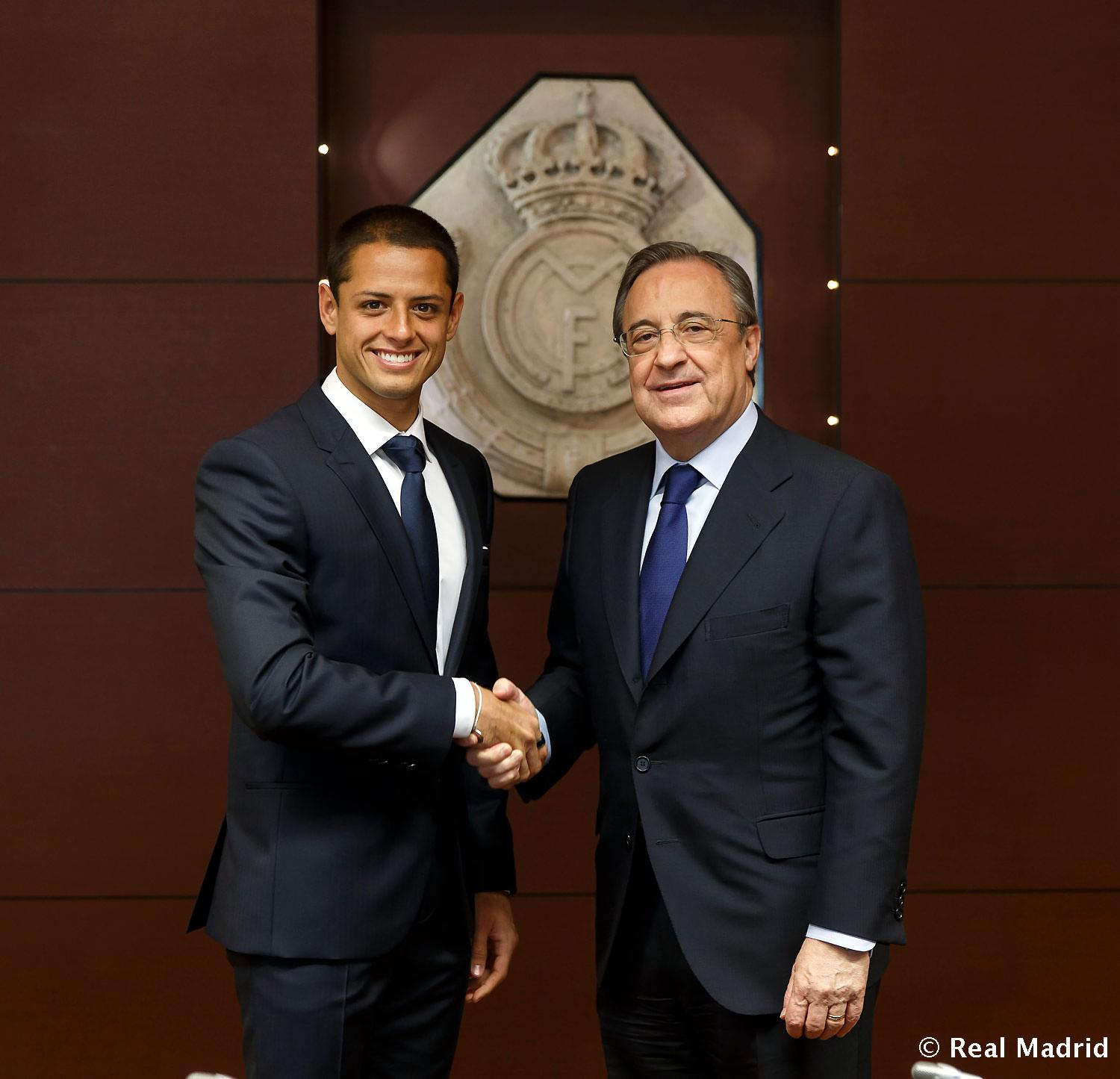 Real Madrid - Chicharito - 01-09-2014
