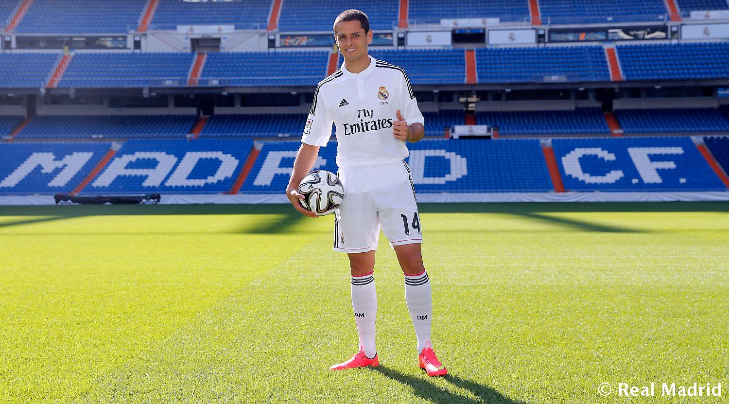 Real Madrid - Chicharito Hernández - 01-09-2014