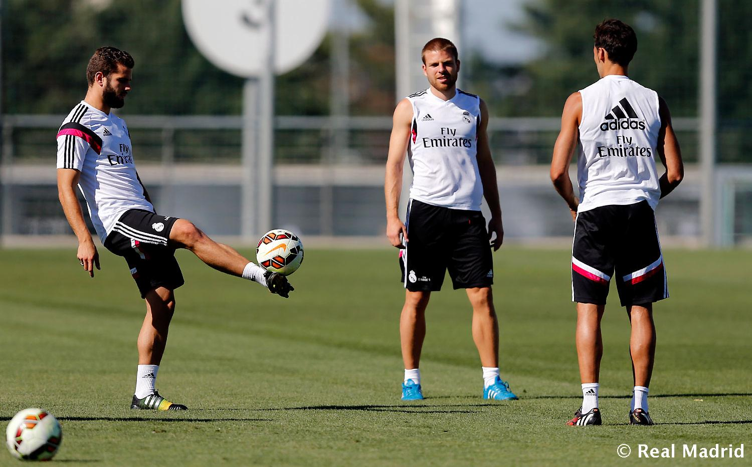 Real Madrid - Entrenamiento del Real Madrid - 03-09-2014