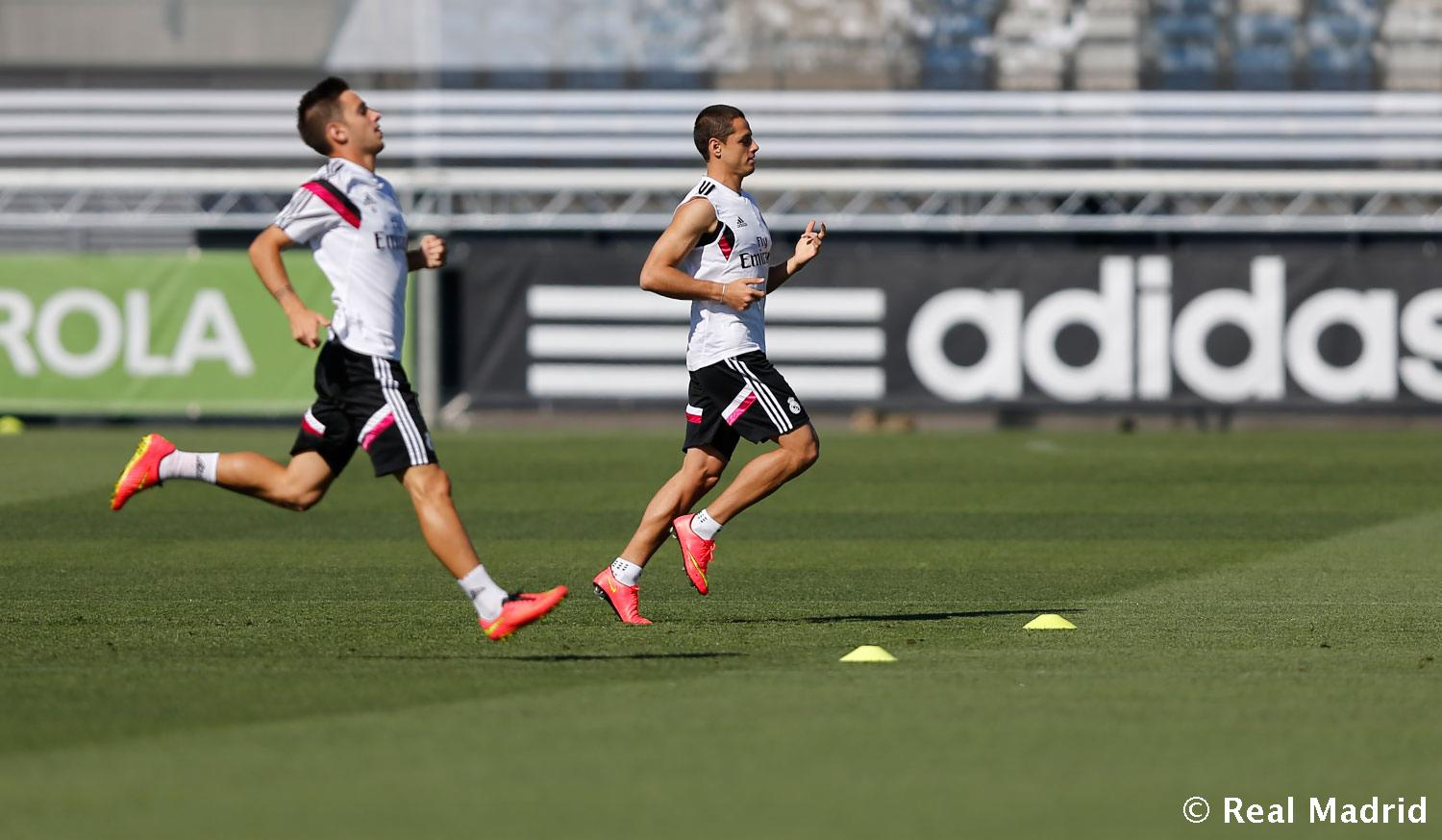 Real Madrid - Entrenamiento del Real Madrid - 04-09-2014