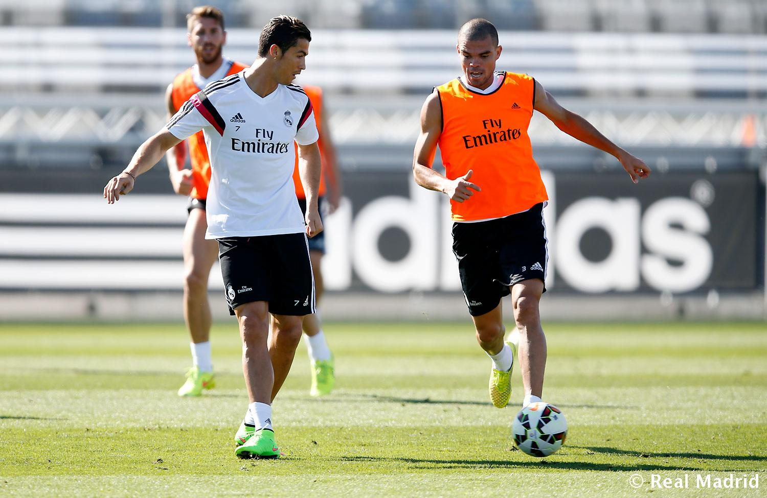 Real Madrid - Entrenamiento del Real Madrid - 10-09-2014
