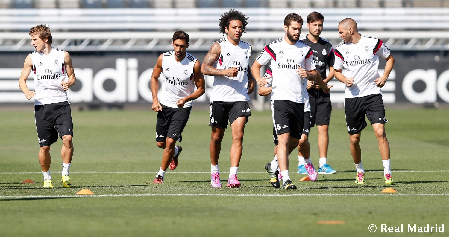 Real Madrid - Entrenamiento del Real Madrid - 11-09-2014