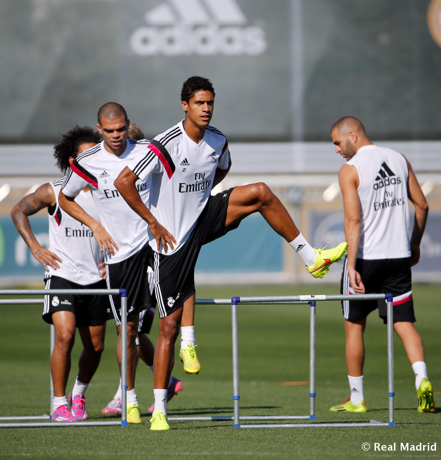 Real Madrid - Entrenamiento del Real Madrid - 12-09-2014