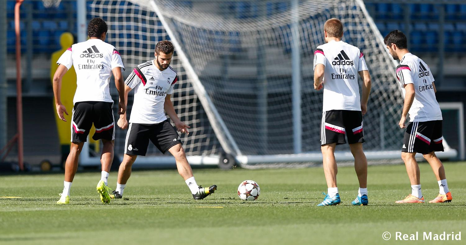 Real Madrid - Entrenamiento del Real Madrid - 14-09-2014