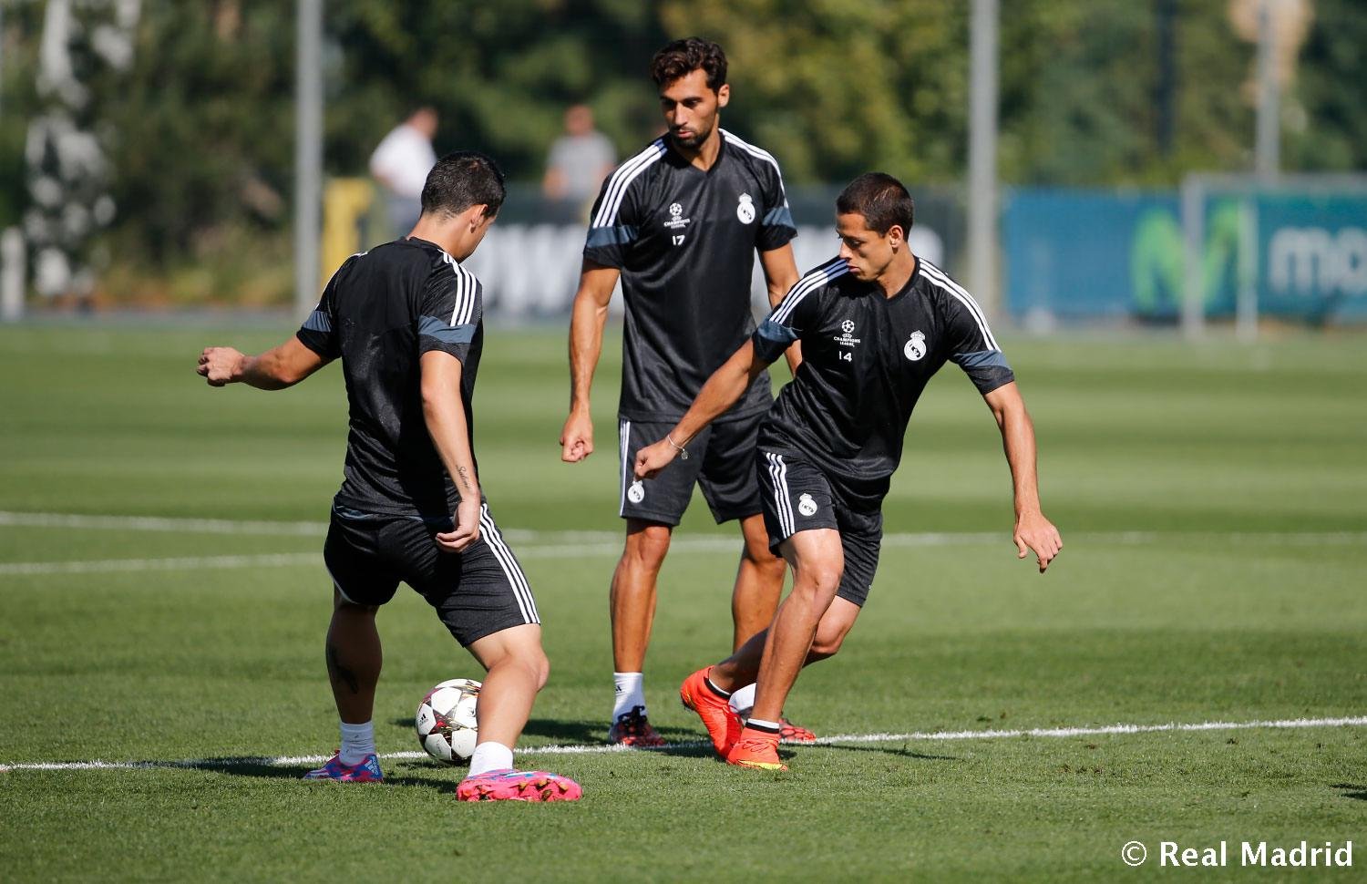Real Madrid - Entrenamiento del Real Madrid - 15-09-2014