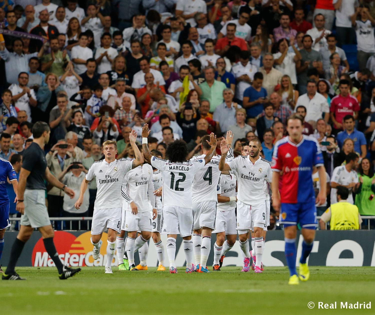 Real Madrid - Real Madrid - Basilea - 16-09-2014