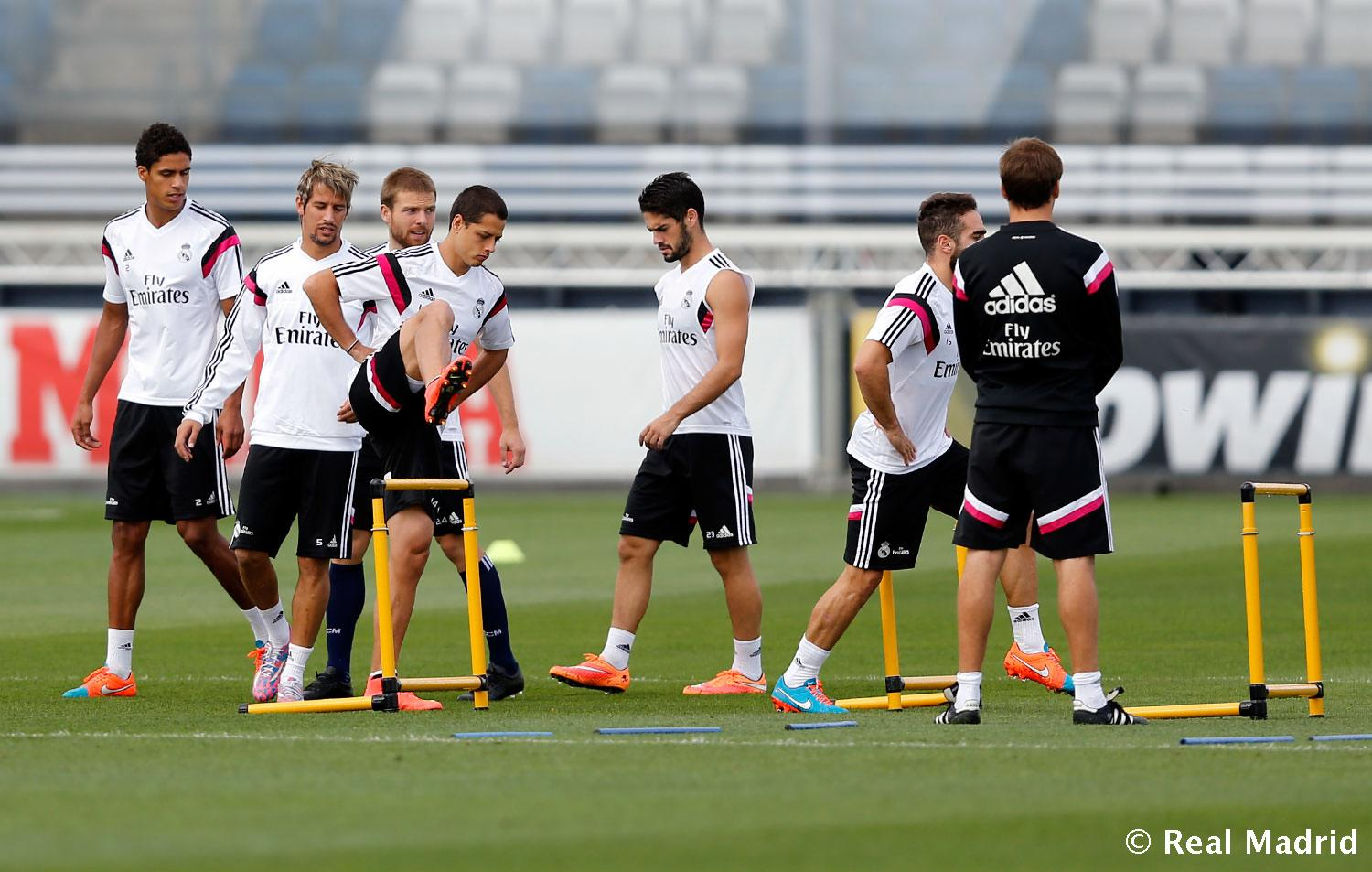 Real Madrid - Entrenamiento del Real Madrid - 17-09-2014