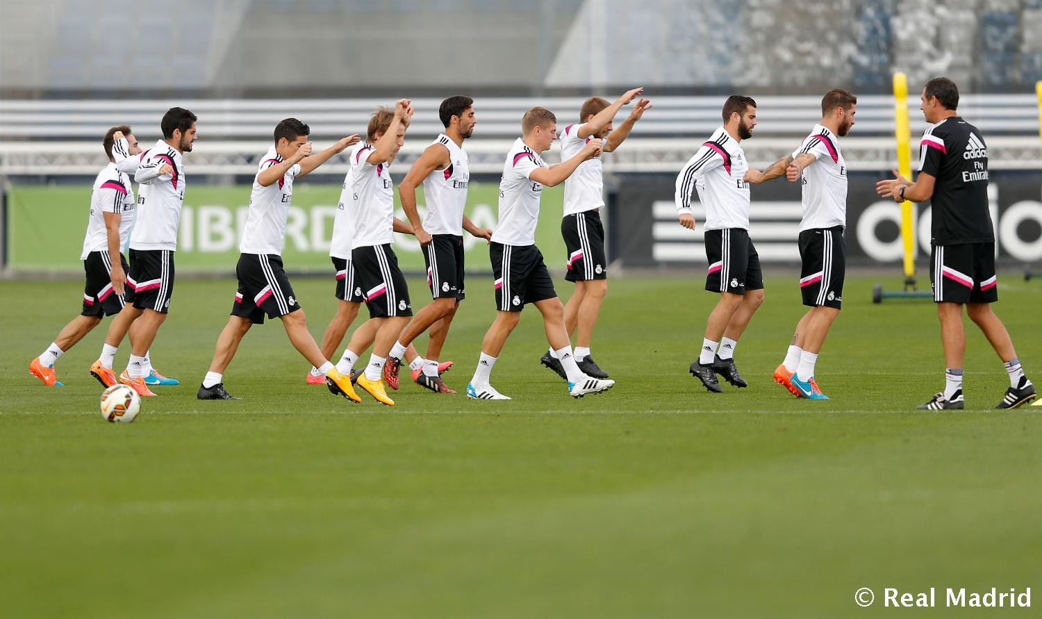 Real Madrid - Entrenamiento del Real Madrid - 18-09-2014