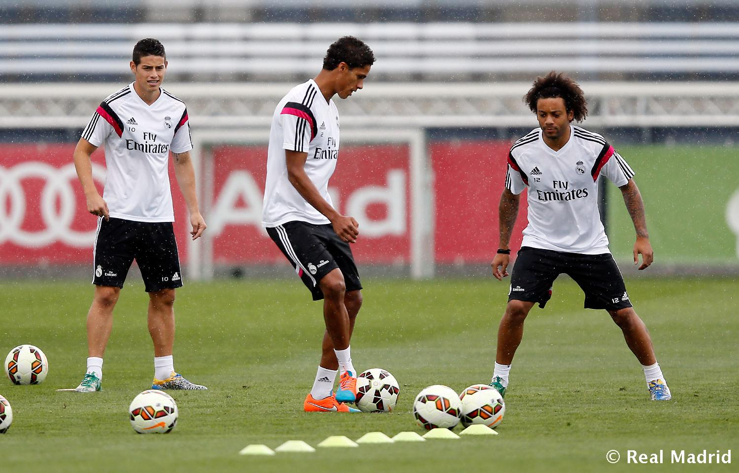 Real Madrid - Entrenamiento del Real Madrid - 19-09-2014