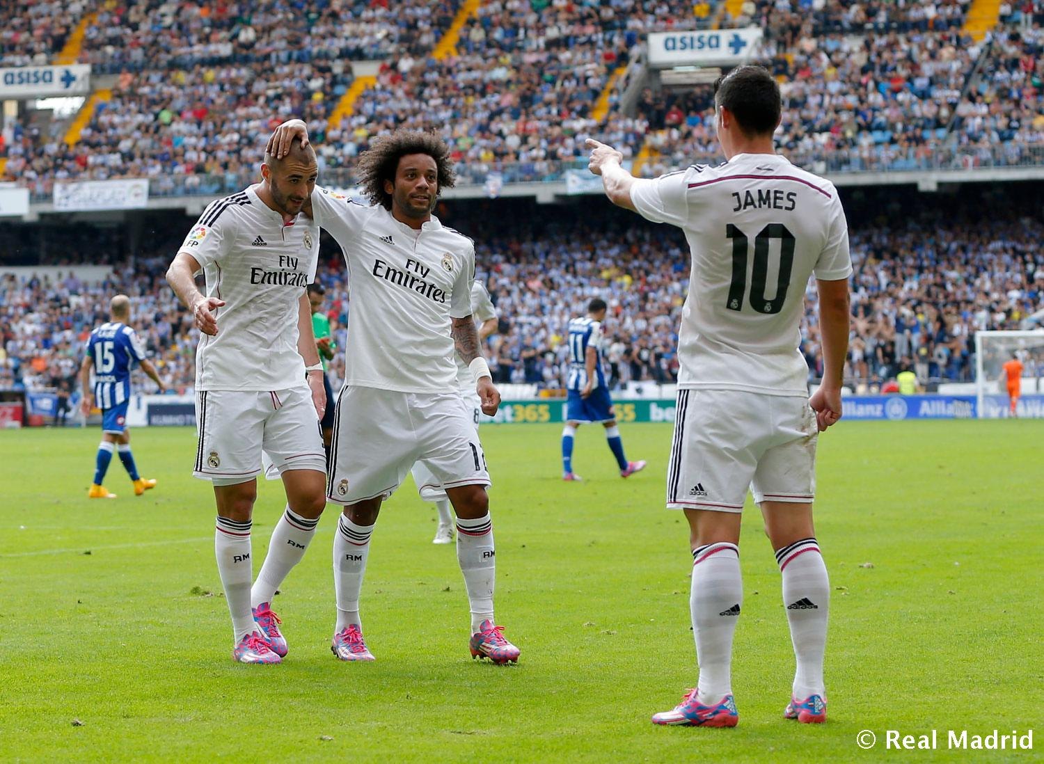Real Madrid - Deportivo - Real Madrid - 20-09-2014