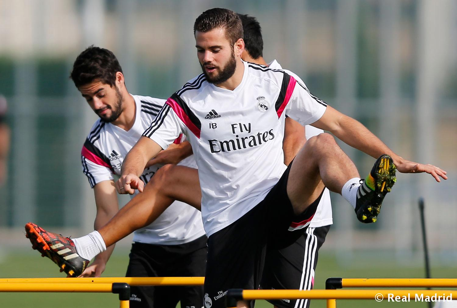 Real Madrid - Entrenamiento del Real Madrid - 21-09-2014