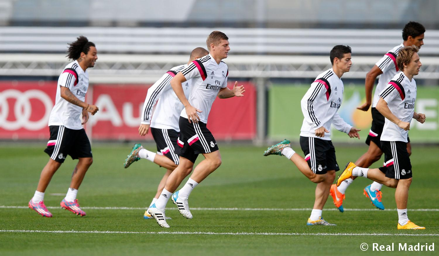 Real Madrid - Entrenamiento del Real Madrid - 22-09-2014
