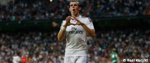 Bale scored Real Madrid's 3,000th Liga goal at the Bernabéu
