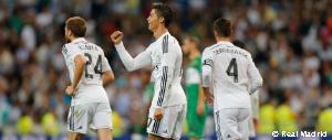 Cristiano Ronaldo moves to third in Madrid's all-time La Liga scoring list