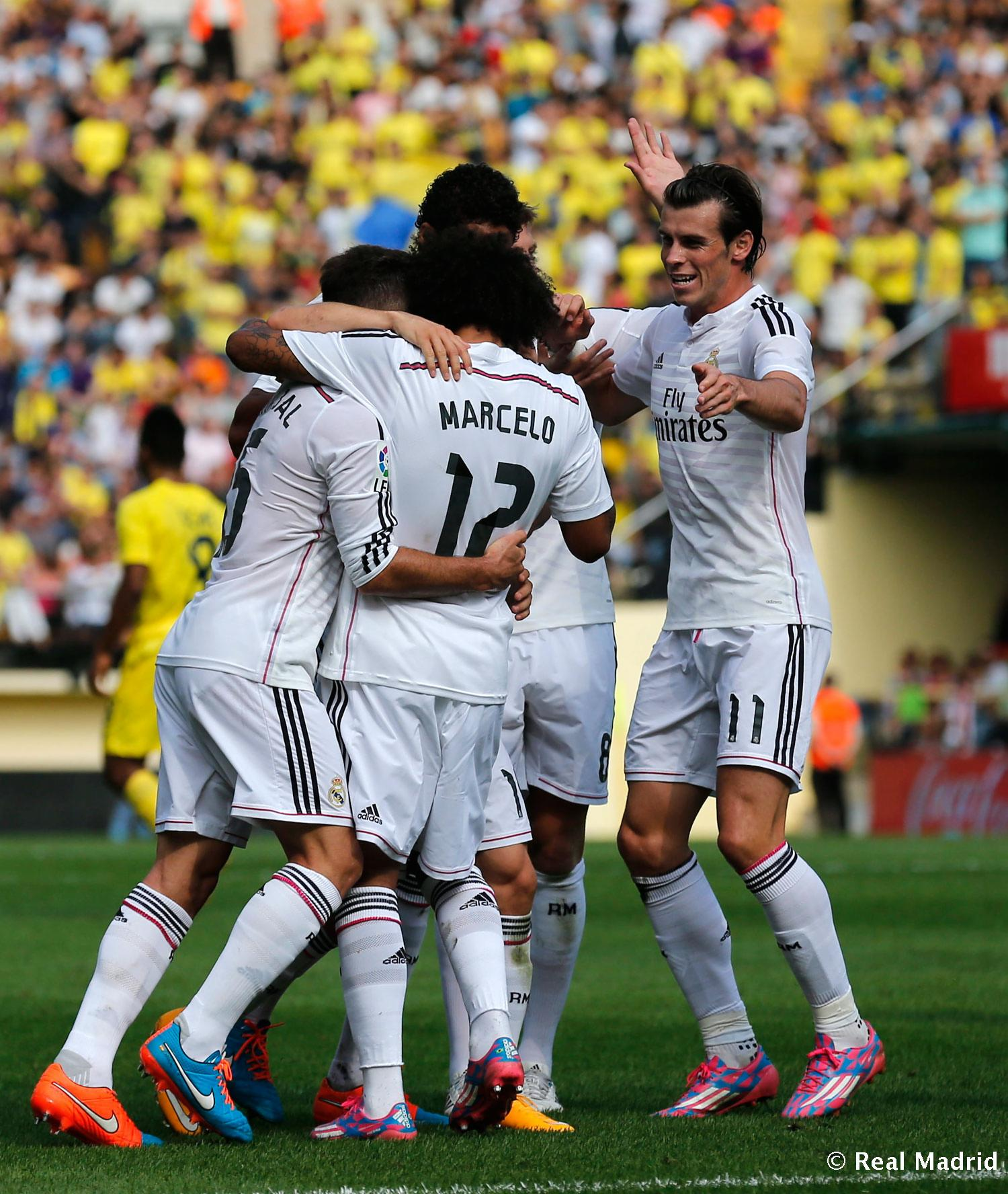 Real Madrid - Villarreal - Real Madrid - 27-09-2014