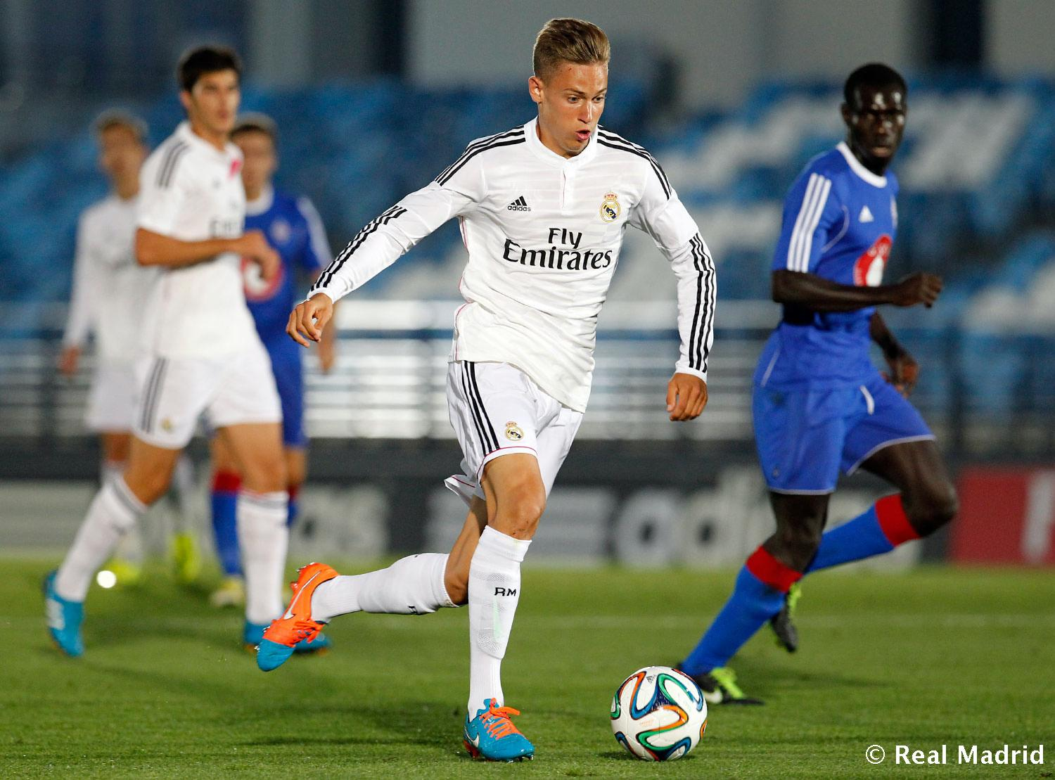 Real Madrid - Real Madrid Castilla - Amorebieta - 27-09-2014