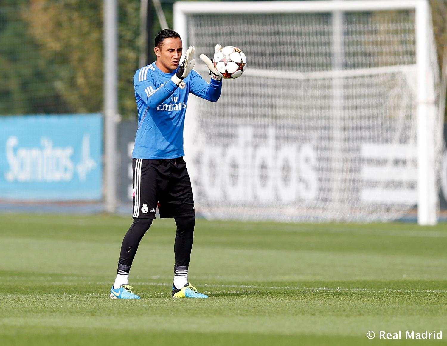 Real Madrid - Entrenamiento del Real Madrid - 29-09-2014