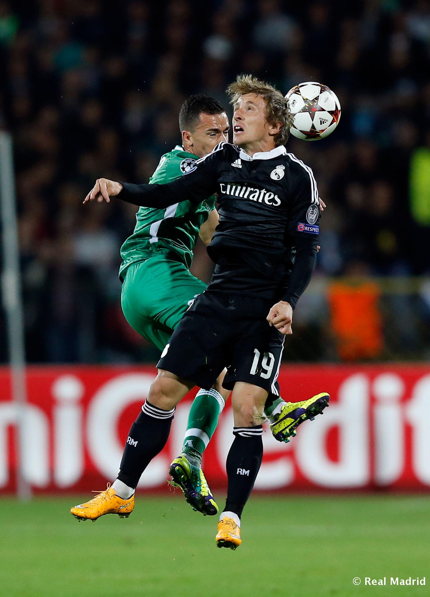 Real Madrid - Ludogorets - Real Madrid - 01-10-2014