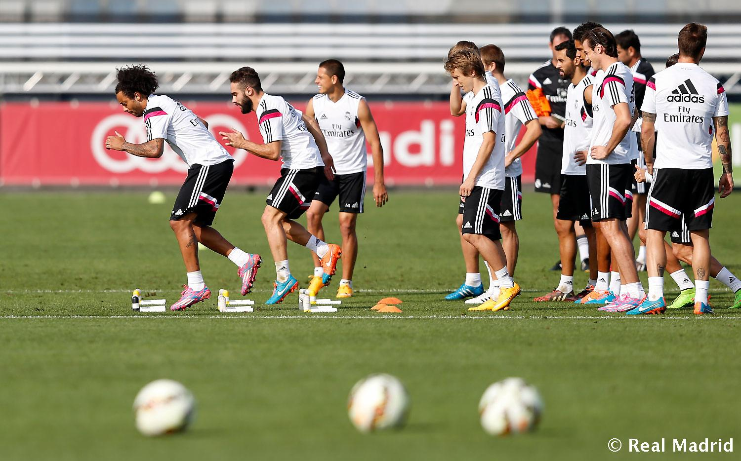 Real Madrid - Entrenamiento del Real Madrid - 04-10-2014