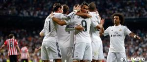 5-0: Goal fest against Athletic with another Cristiano Ronaldo hat-trick