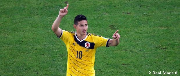 James Rodríguez in final three for 2014 Puskas Award | Real