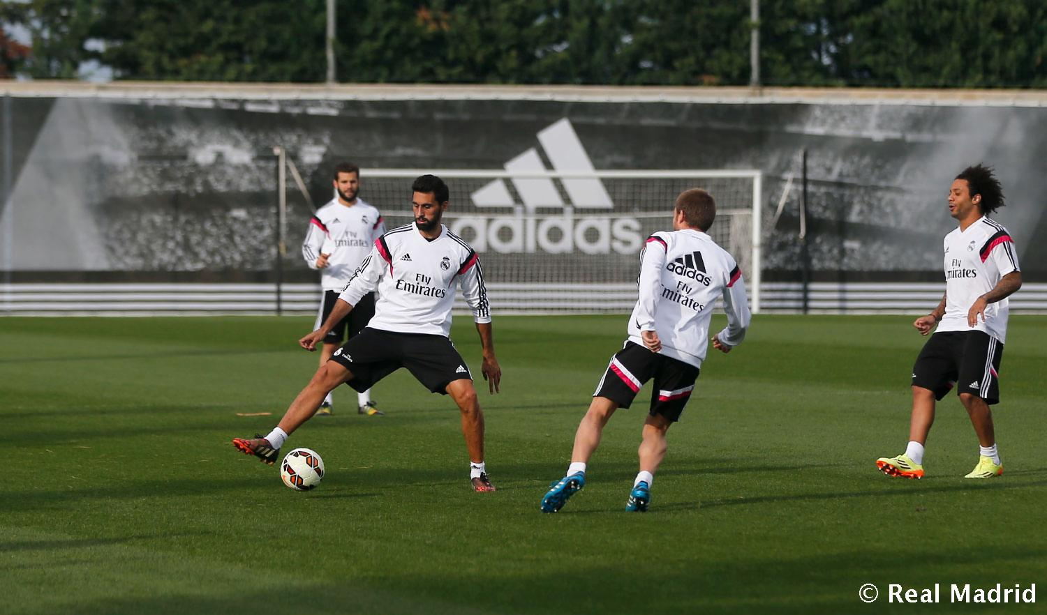 Real Madrid - Entrenamiento del Real Madrid - 13-10-2014