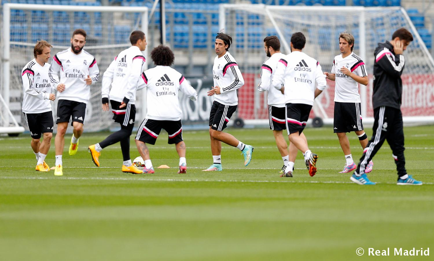 Real Madrid - Entrenamiento del Real Madrid - 15-10-2014