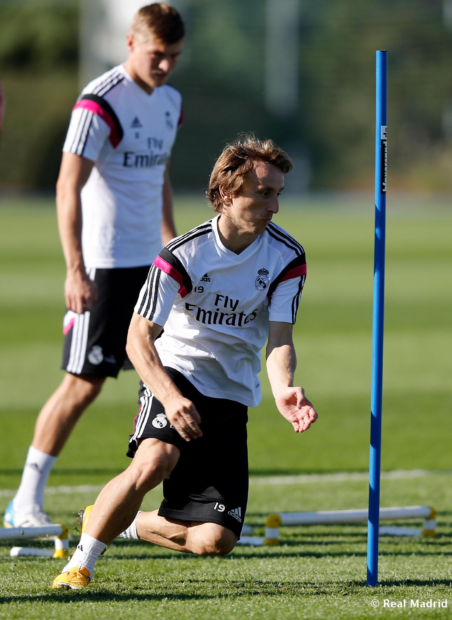 Real Madrid - Entrenamiento del Real Madrid - 17-10-2014