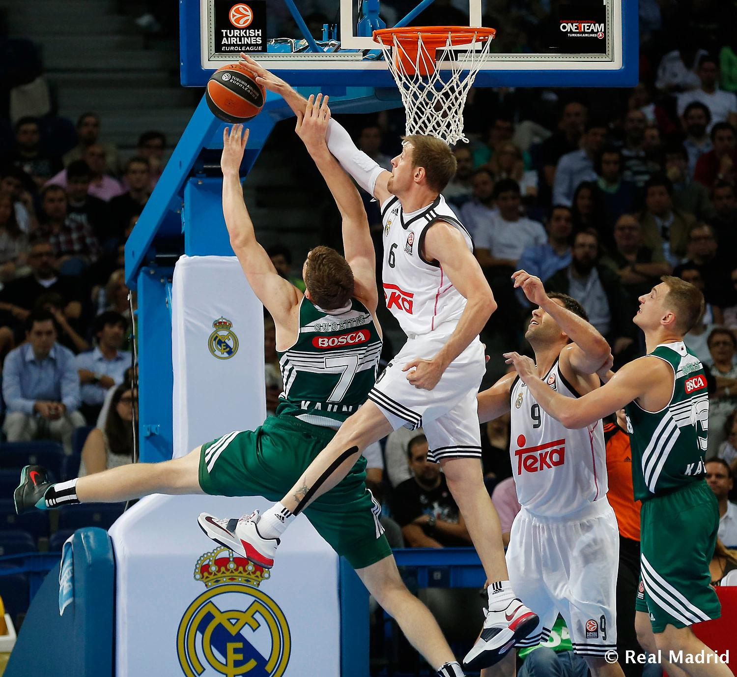 Real Madrid - Real Madrid - Zalgiris Kaunas - 17-10-2014