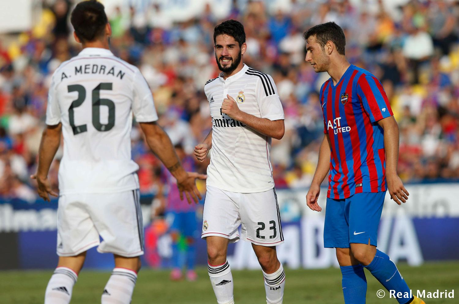 Real Madrid - Levante - Real Madrid - 18-10-2014