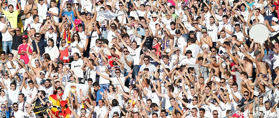 Aficionados en el Levante - Real Madrid
