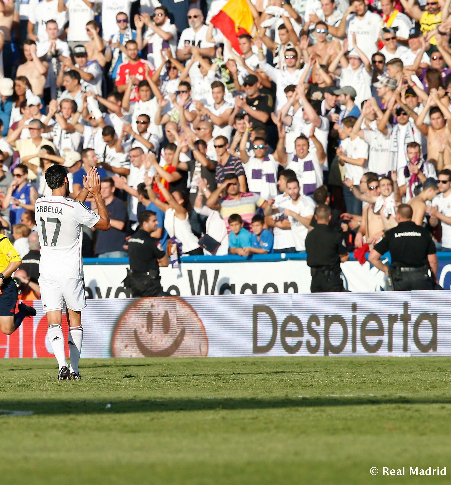 Real Madrid - Aficionados en el Levante - Real Madrid - 18-10-2014