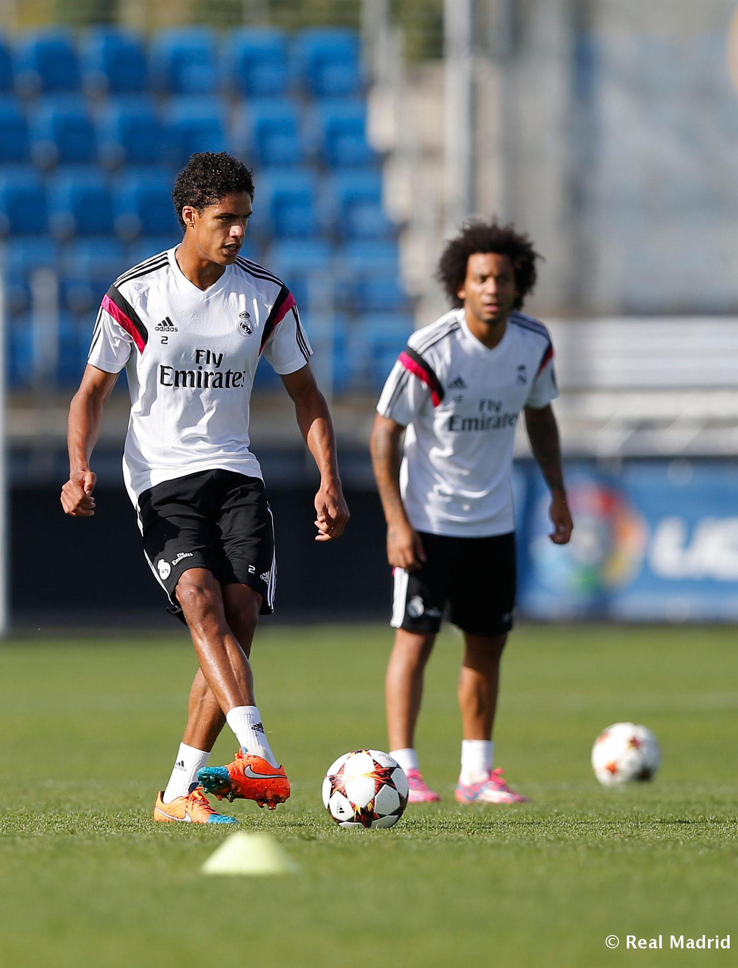 Real Madrid - Entrenamiento del Real Madrid - 20-10-2014