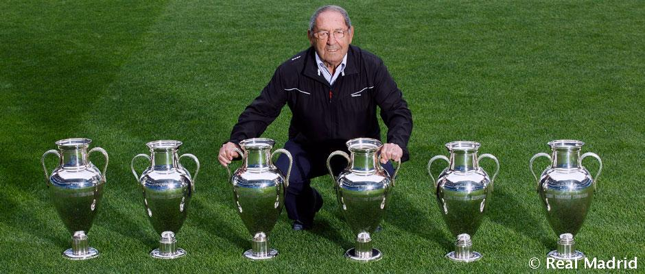 Gento Turns 81 Years Old Real Madrid Cf