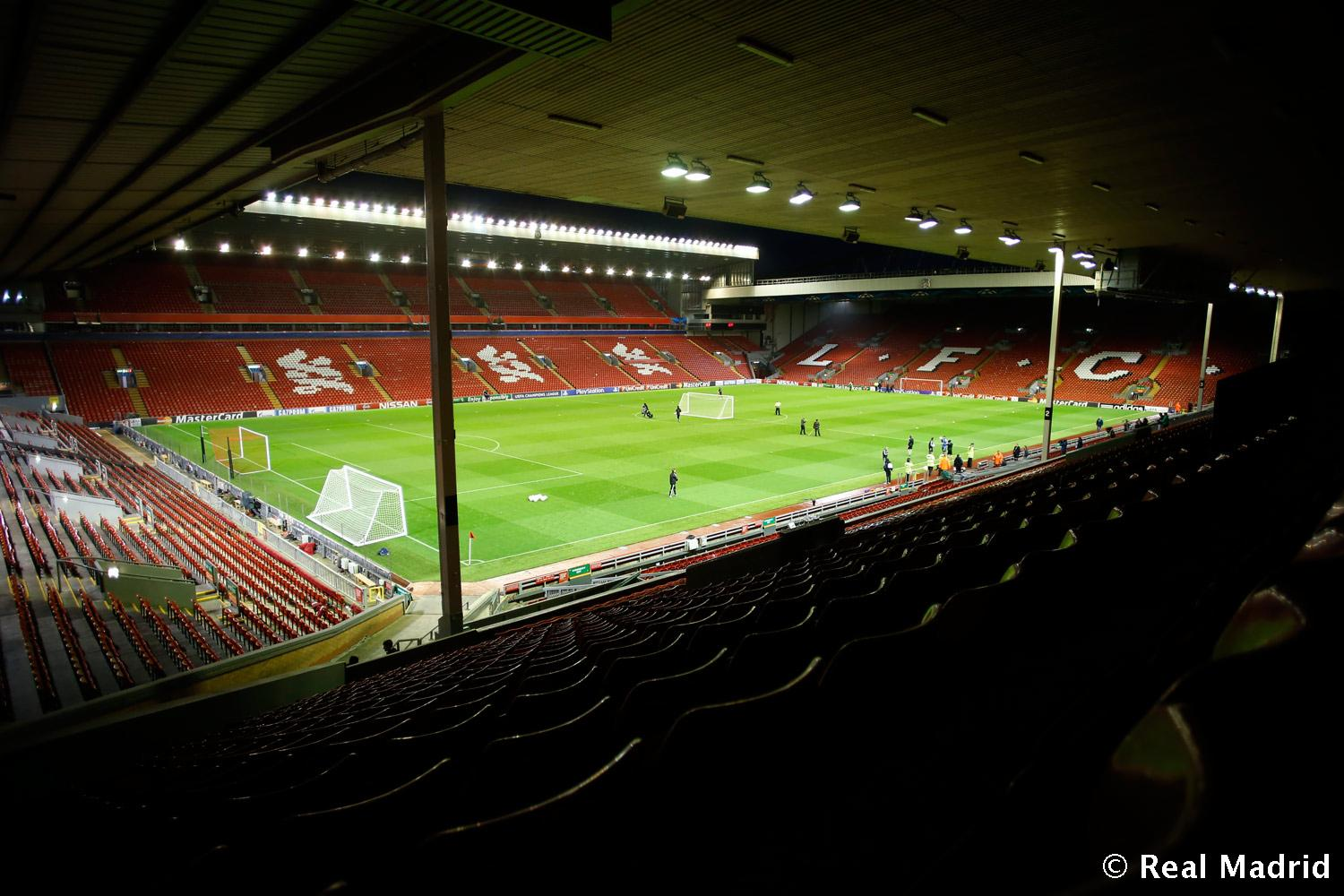 Real Madrid - Estadio de Anfield - 21-10-2014
