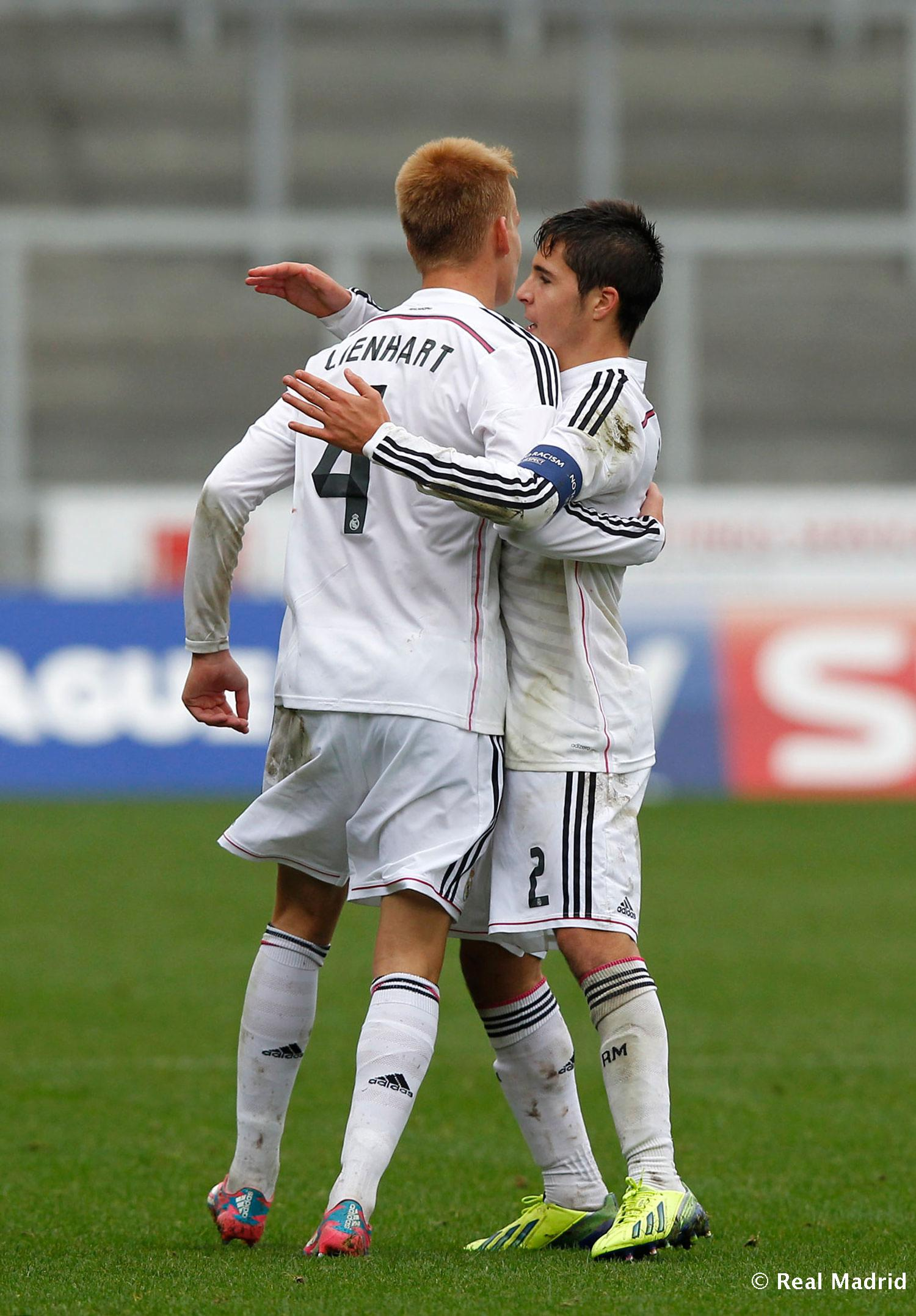 Real Madrid - Liverpool - Juvenil A - 22-10-2014