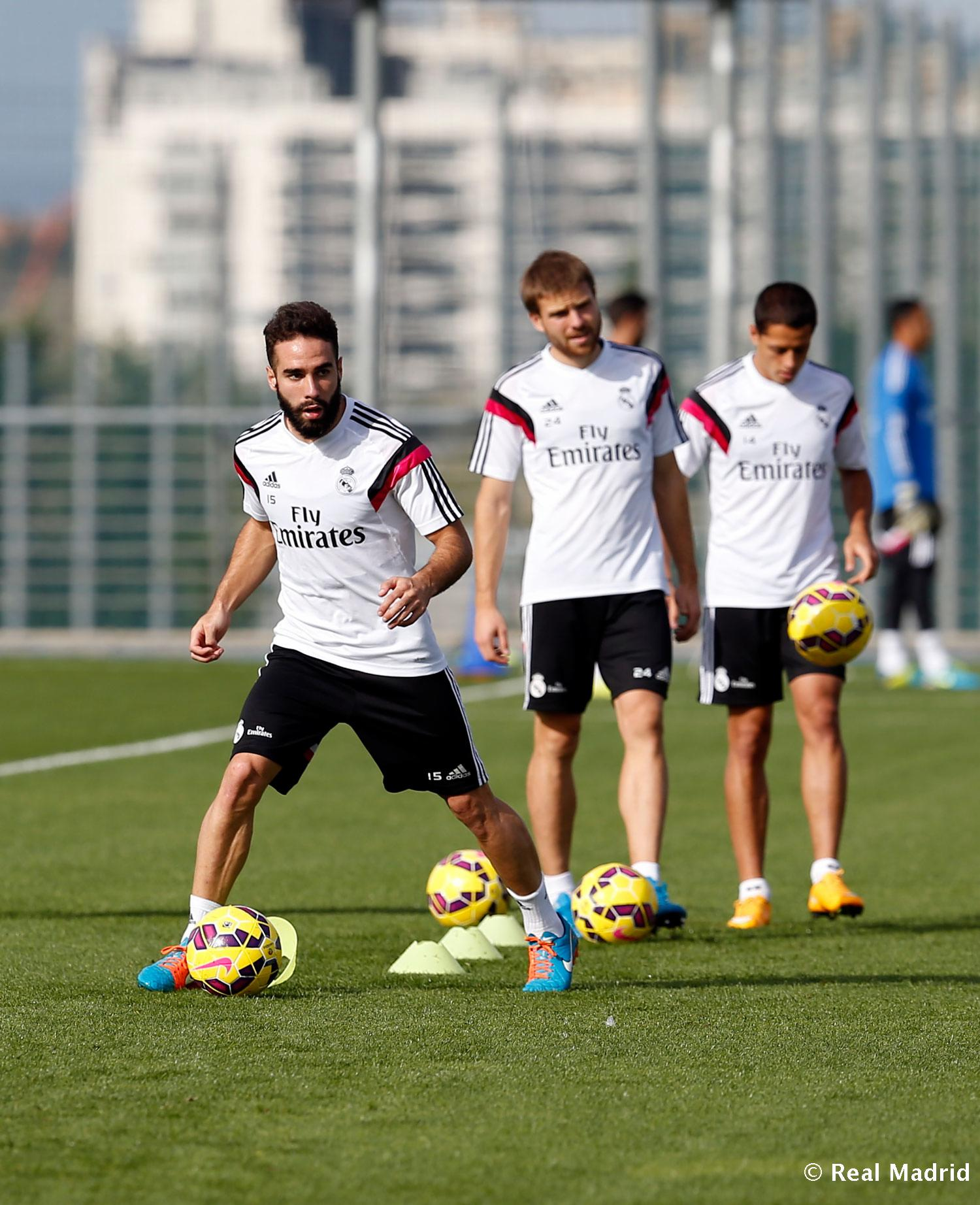Real Madrid - Entrenamiento del Real Madrid - 23-10-2014
