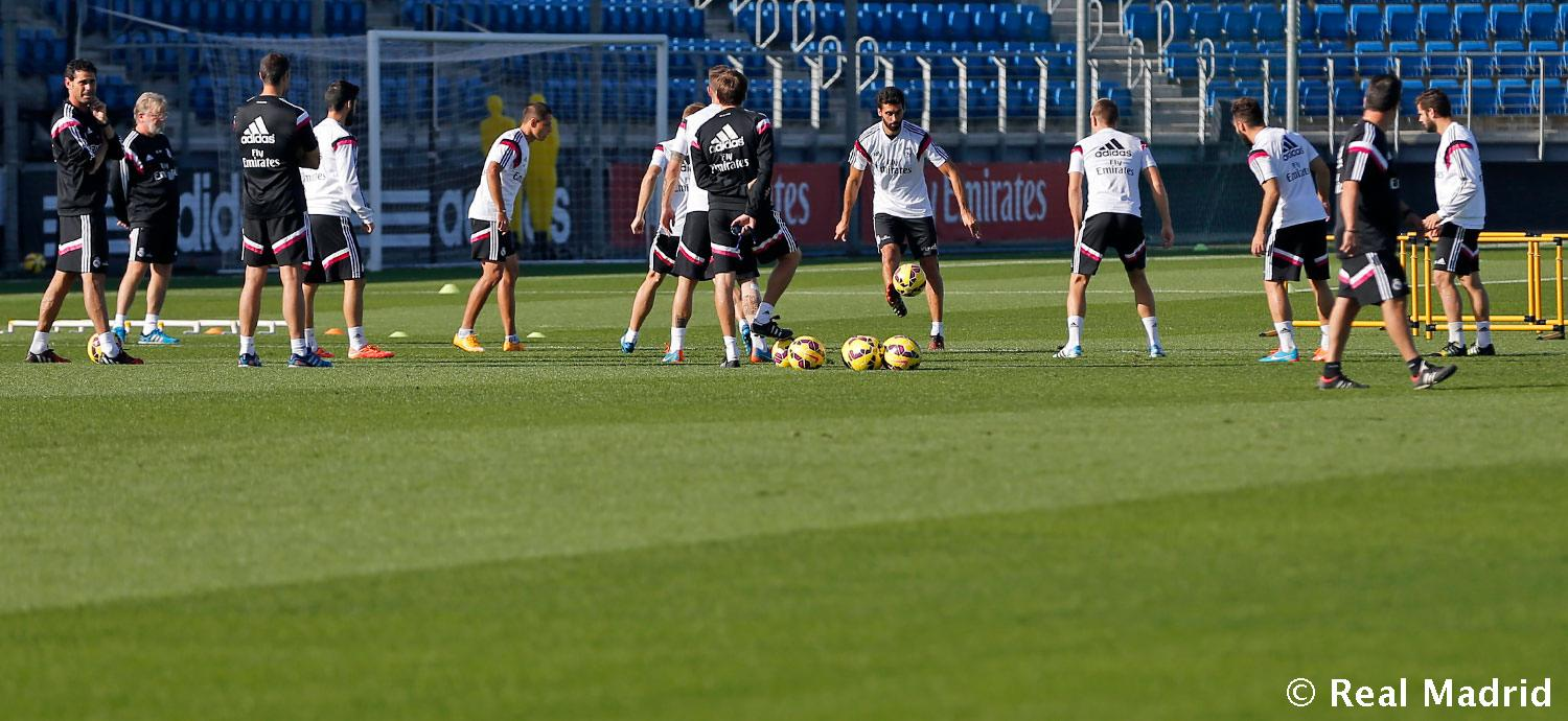 Real Madrid - Entrenamiento del Real Madrid - 24-10-2014