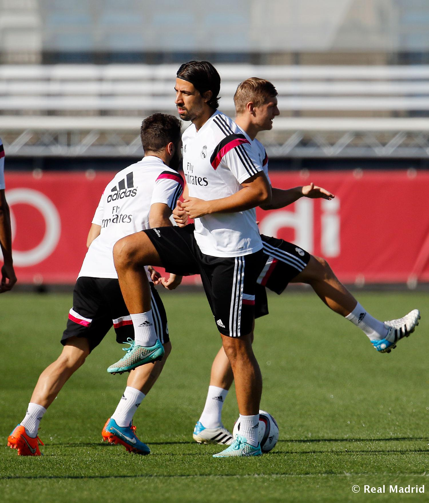 Real Madrid - Entrenamiento del Real Madrid - 27-10-2014