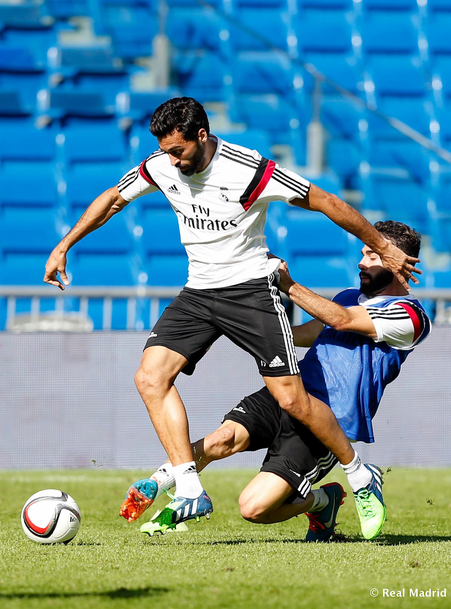 Real Madrid - Entrenamiento del Real Madrid - 28-10-2014