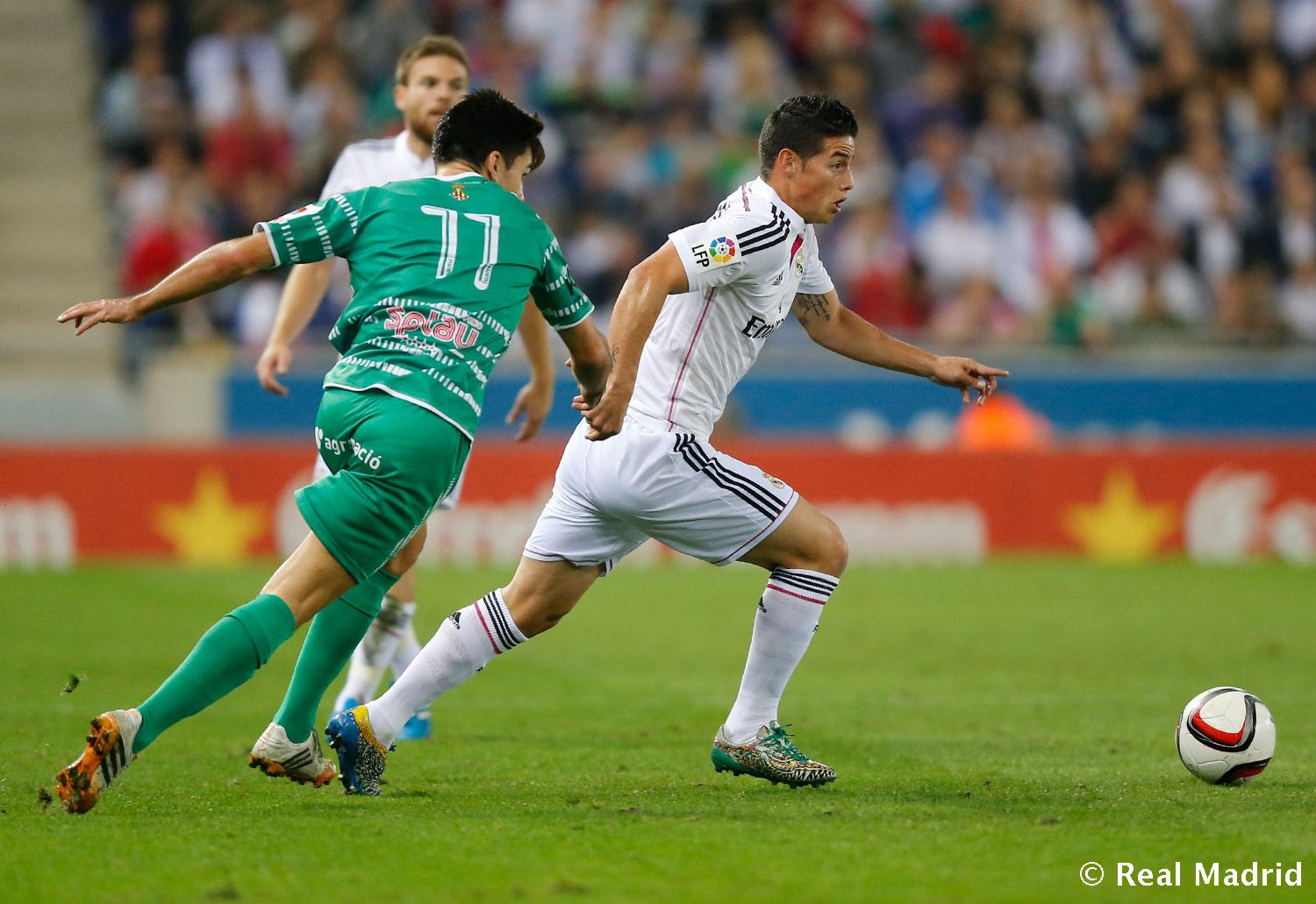 Real Madrid - Cornellà - Real Madrid - 29-10-2014